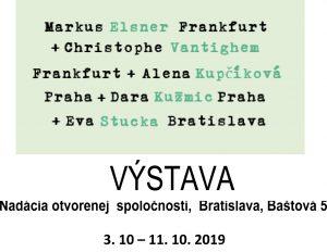 pozvánka na výstavu do Bratislavy